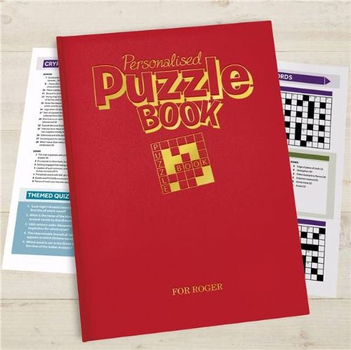 Personalised Puzzle Book Deluxe Version